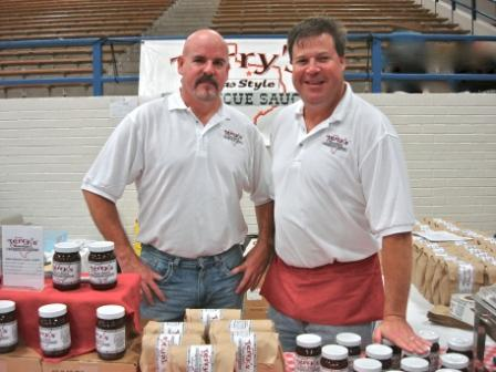 Bill and Craig at 2011 LD Bell Craft Show